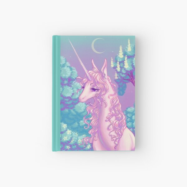 The Last Unicorn's Forest Hardcover Journal
