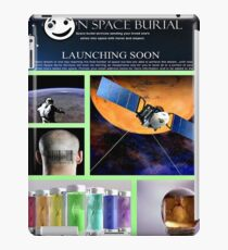 space burial iPad Case/Skin