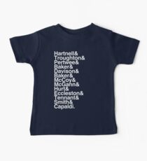 All Doctor - Hartnell to Capaldi, With Hurt Baby Tee