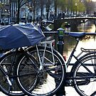 Rainy days in Amsterdam by naranzaria