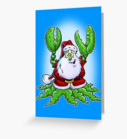 Santa Claws! Greeting Card