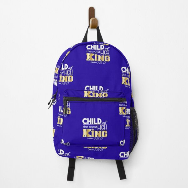 Child of the most High King Backpack