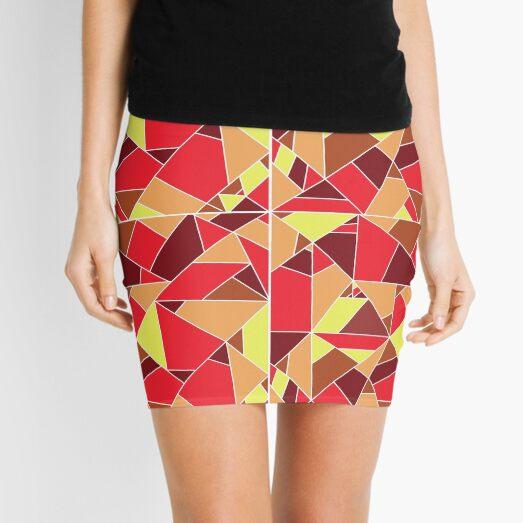 magma texture Mini Skirt
