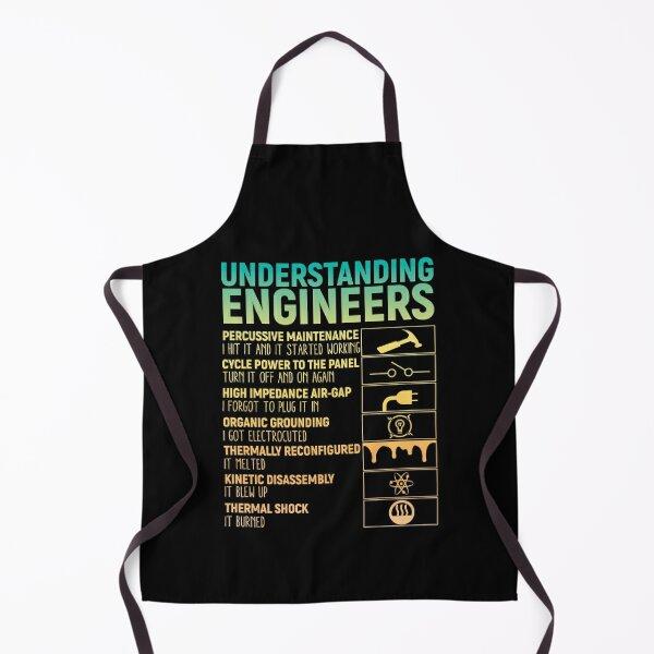 Understanding Engineers Vintage Design Apron