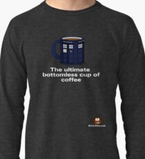 Ultimate Bottomless Coffee (Whovian Edition) Lightweight Sweatshirt