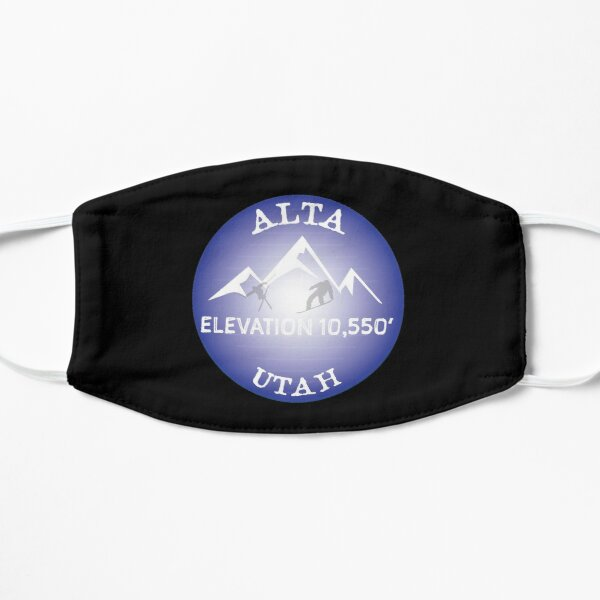 Alta Ski Mountain Utah Sticker Decal Moab Ski Area Snowboard  Mask