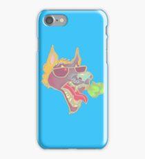 Blue Mascot Case iPhone Case/Skin