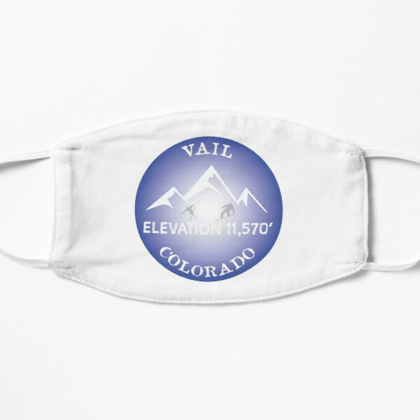 Vail Colorado Ski Snowboard Heli Drop Sticker Lions Head Skier Snowboarder Gift Ideas Mask