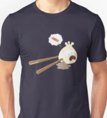 Dumpling hurt by chopsticks Unisex T-Shirt