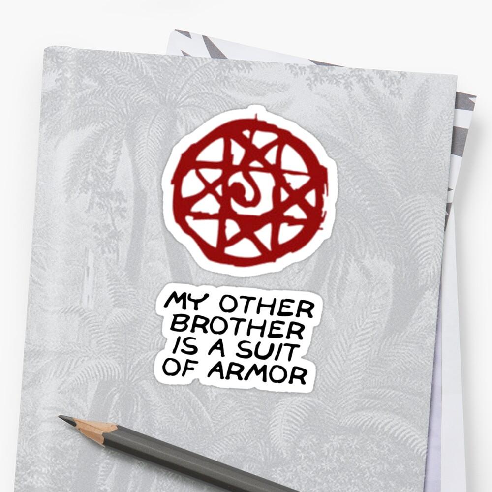 """Fullmetal Alchemist Blood Seal t-shirt"" Stickers by ..."