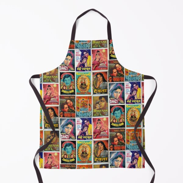 Vintage Bollywood Pattern Apron