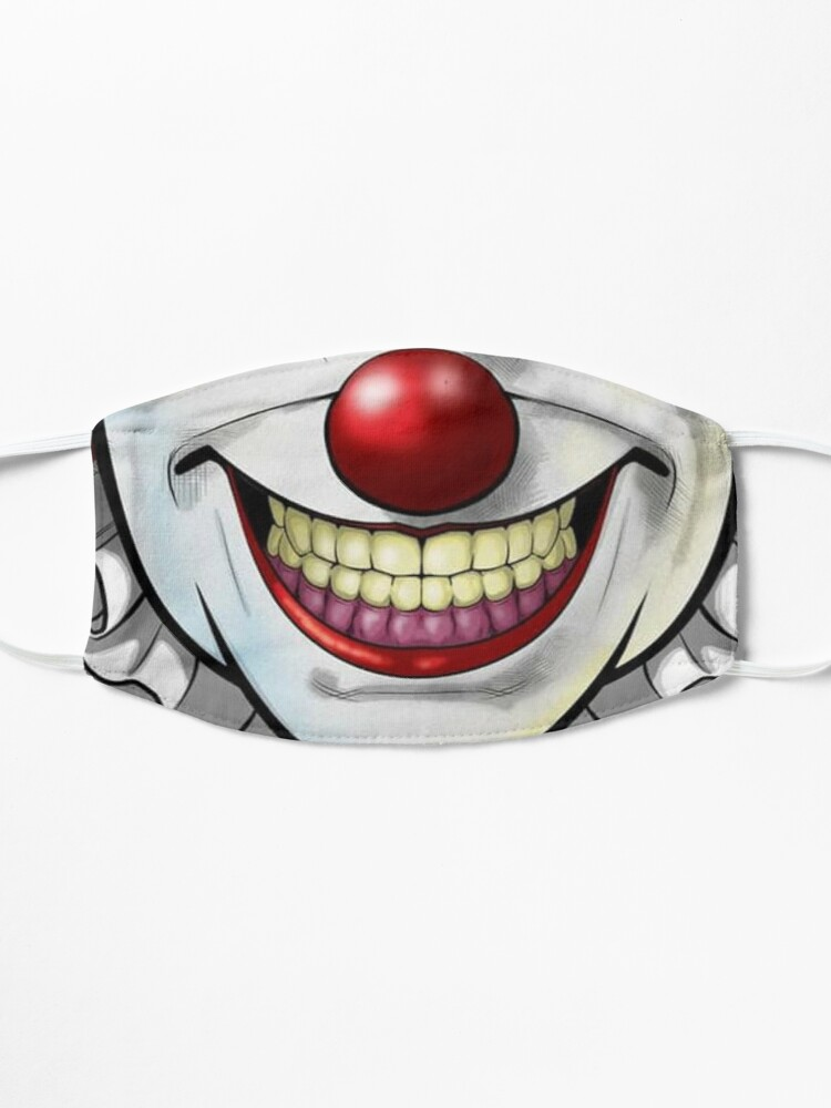 Alternate view of Clown Mouth design Mask