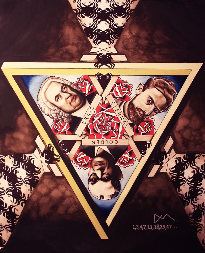 Godel Escher Bach art print! by comastar