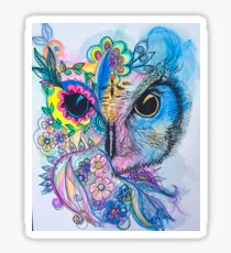 Magestic owl  Sticker