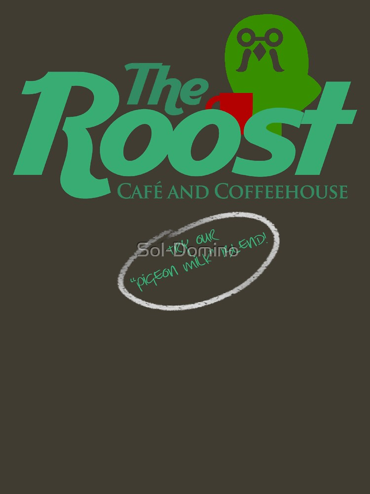 TShirtGifter presents: The Roost Store Logo | Unisex T-Shirt