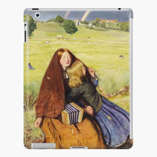John Everett Millais - The Blind Girl 1854 iPad Snap Case