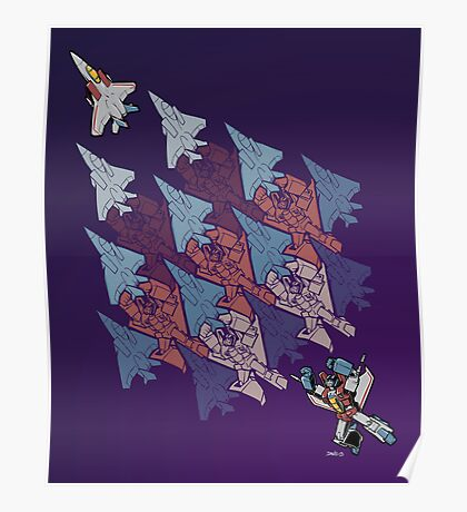 Transformation Tessellation Poster