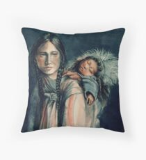 Son of the North Throw Pillow