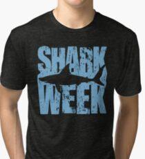 Shark Week Tri-blend T-Shirt