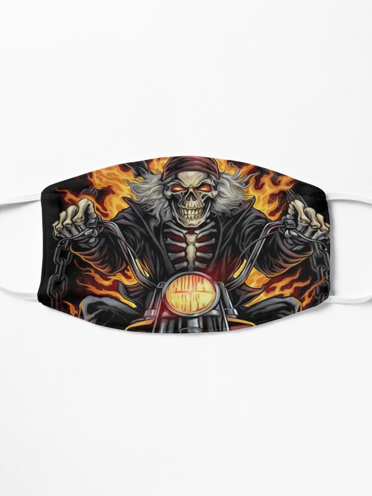 Alternate view of Skull #1 design Mask