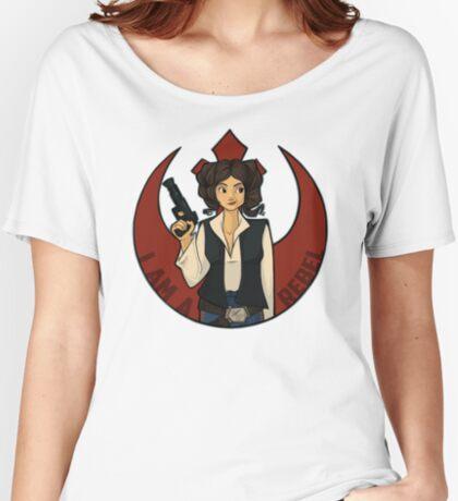 Rebel Girl Women's Relaxed Fit T-Shirt