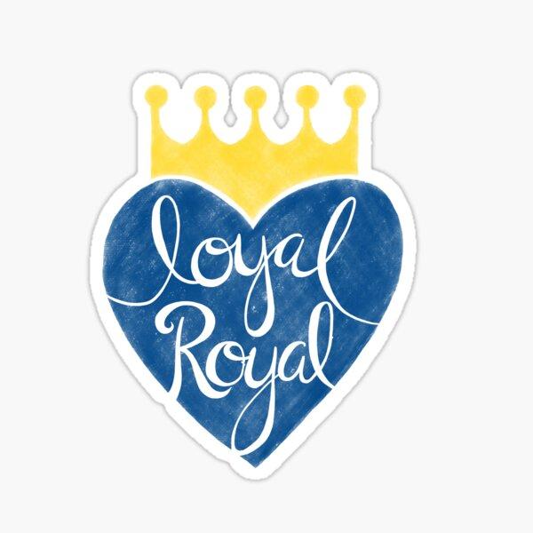 Kansas City Loyal Royal Sticker