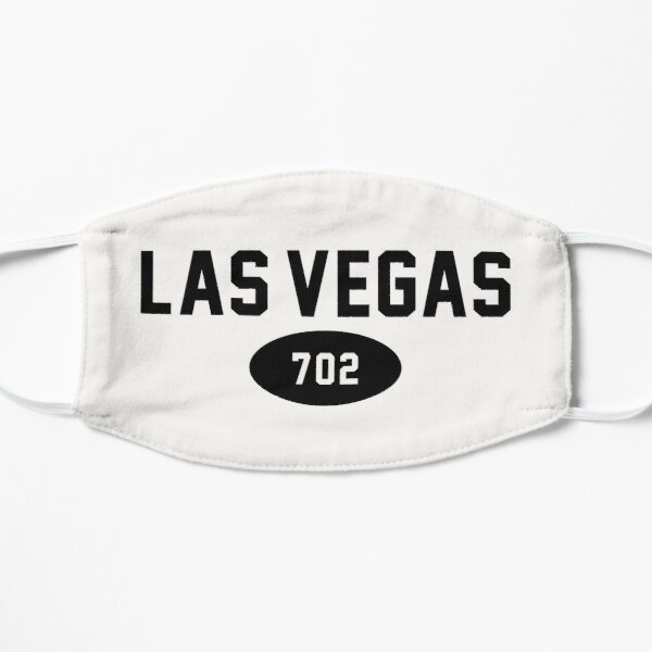 Las Vegas 702 Black Mask