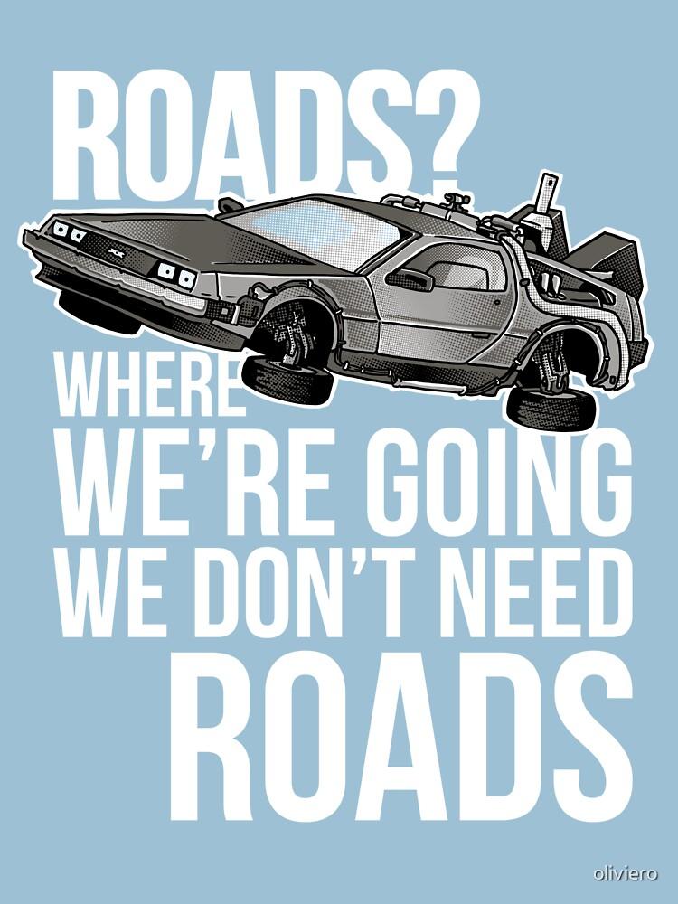we don't need roads! | Unisex T-Shirt