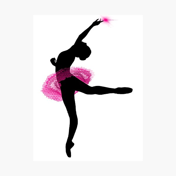 Ballerina Fotodruck