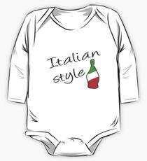 Italian Style One Piece - Long Sleeve