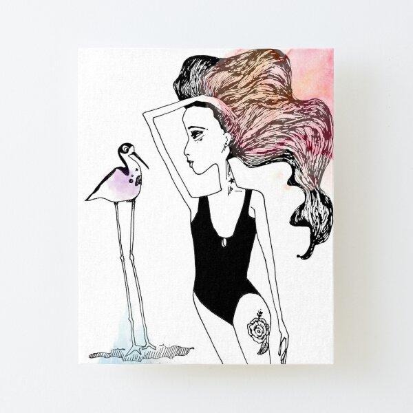Stilt Orbit Canvas Mounted Print