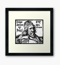 Inigo Jones Framed Print