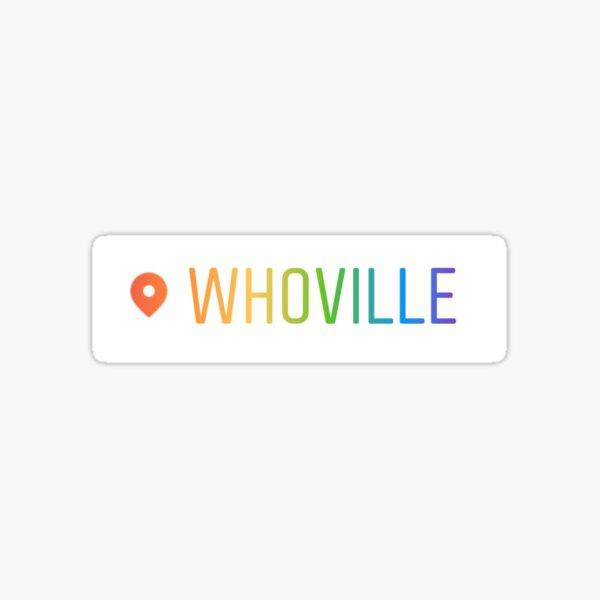 whoville Sticker