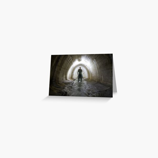 Tunnel, Canal tunnel Greeting Card