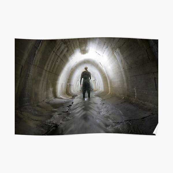 Tunnel, Canal tunnel Poster