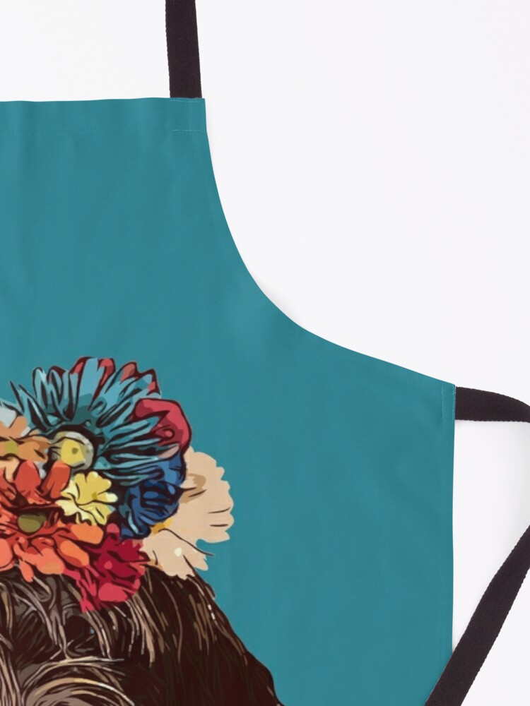 Alternate view of FLOWER PINK Apron