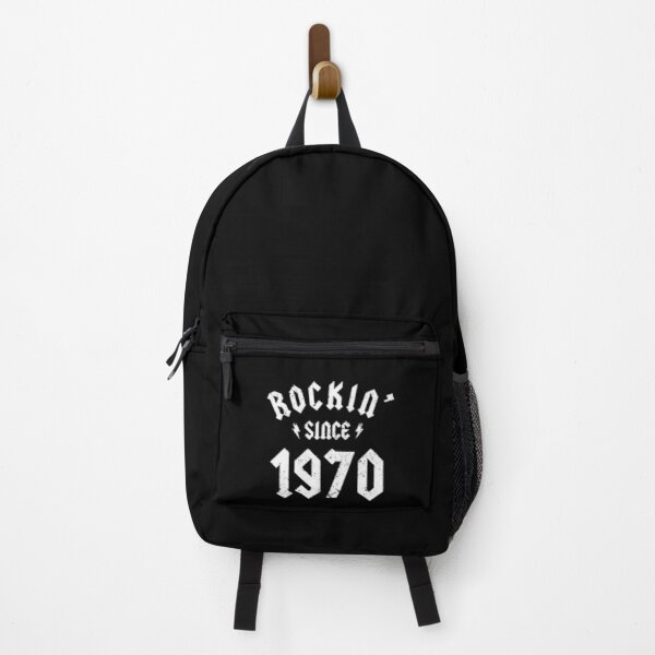 Classic Rock 1970 50th Birthday - Gift for 50 Year Old Backpack