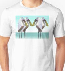 Spoonbill gathering T-Shirt