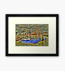 Fishing boats of Whitstable (HDR)  Framed Print