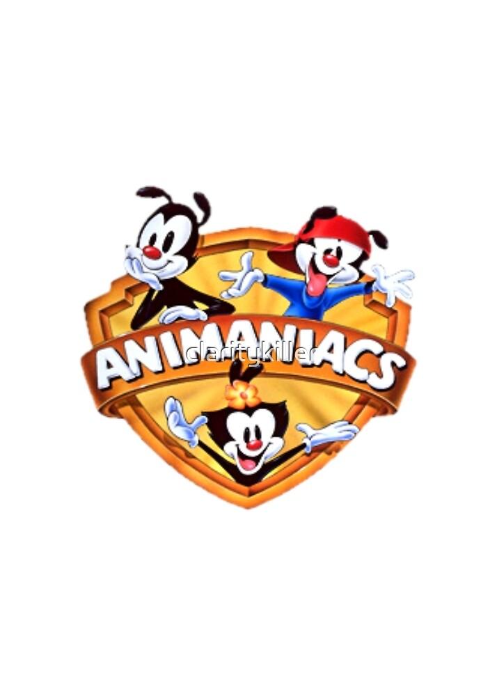 animaniacs logo by claritykiller