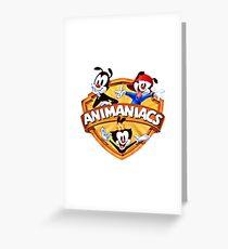 animaniacs logo Greeting Card