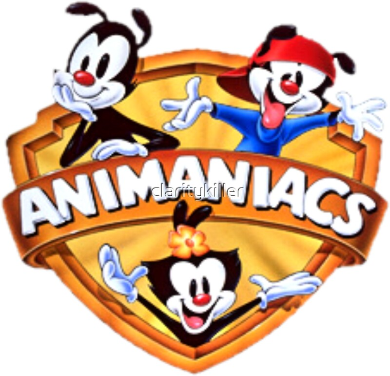 Quot Animaniacs Logo Quot Stickers By Claritykiller Redbubble