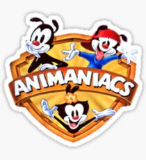 animaniacs logo Sticker