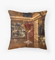 Rosé Wine Throw Pillow