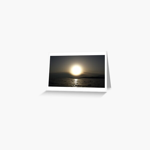 Paradox Sunrise Greeting Card