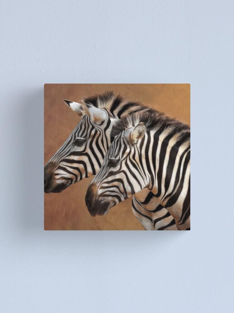 Alternate view of Savana Stripes Canvas Print
