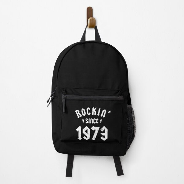 Classic Rock 1973 47th Birthday - Gift for 47 Year Old Backpack