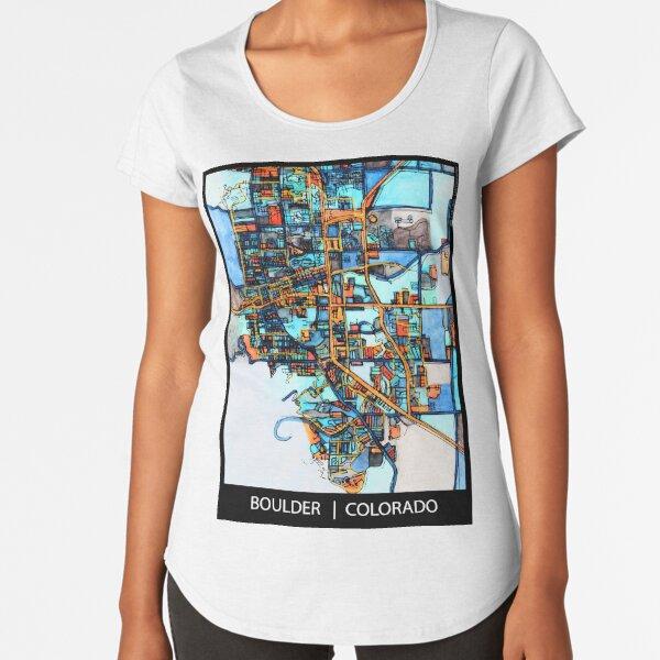 Boulder, CO Premium Scoop T-Shirt