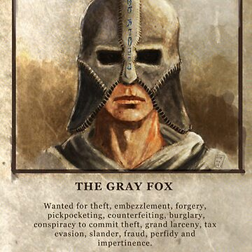 Wanted: The Gray Fox by xfifix