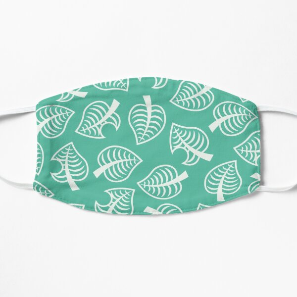 Animal Crossing New Horizon Inspired Leaf Pattern Mask